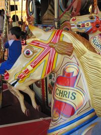 Chris the Horse.